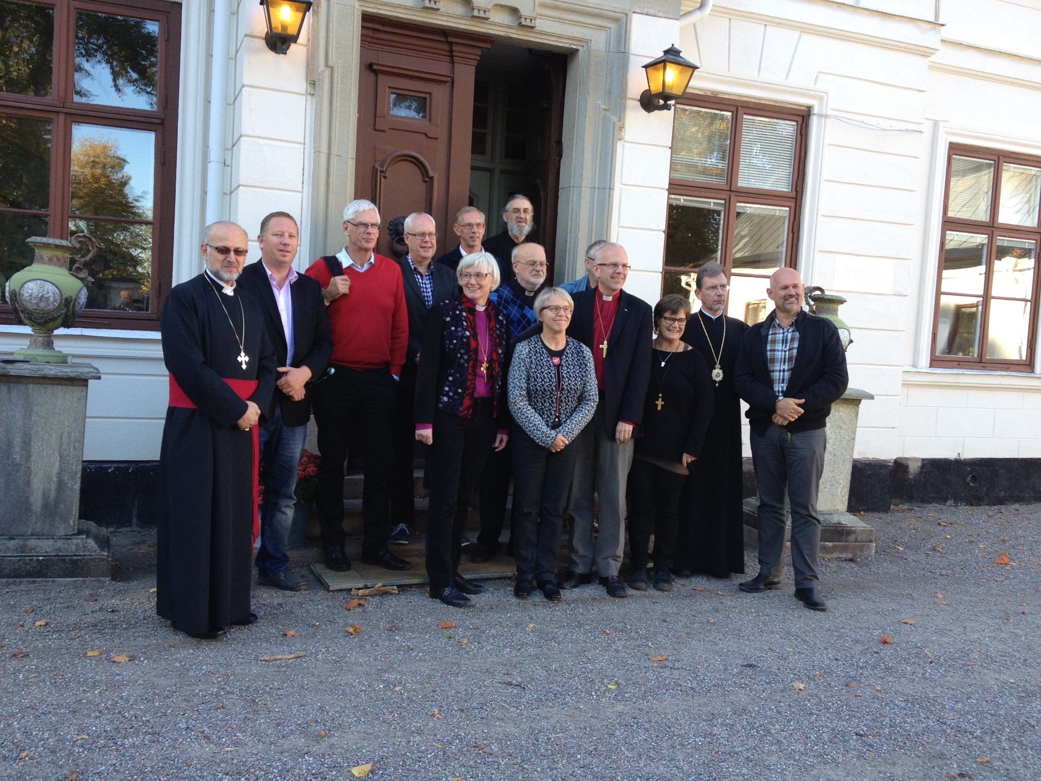 Bishop of Europe Attends Swedish Heads of Churches Meeting