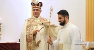 Rev'd Cor-episcopa Narsai Youkhanis to the clerical rank of Archdeacon