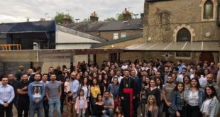 London's Youth Meet with Mar Awraham Youkhanis