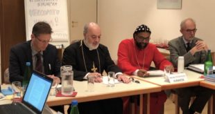 BISHOP OF CALIFORNIA REPRESENTS ASSYRIAN CHURCH OF THE EAST AT SIXTH PRO ORIENTE COLLOQUIUM SYRIACUM