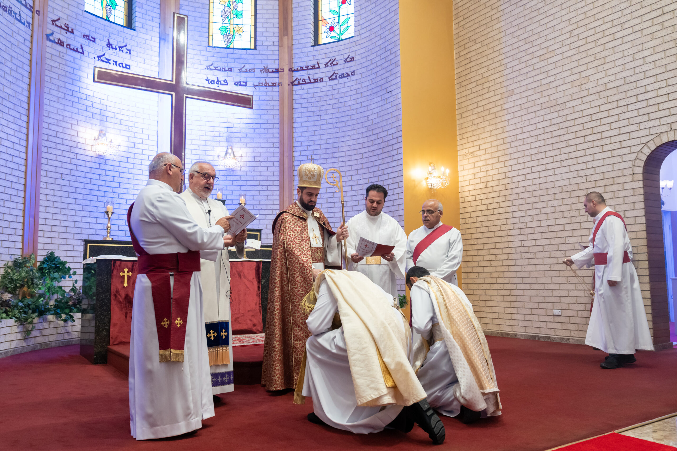 Bishop Mar Awraham Youkhanis Ordains Priests for Diocese of Western Europe